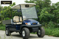 Mountain Type Motorized Golf Cart Seal Box Transportation , High Speed Steady