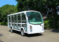 Electric Sightseeing Cart For 14 Passenger AC System With Door