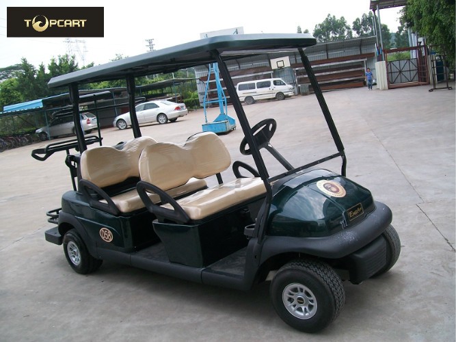 Electric Club Car 4 Seater Golf Cart