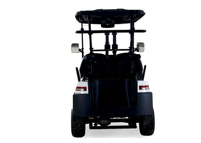 Road Legal 2 Seater Golf Buggy Utility Cart With 48 V Battery Power , white Color
