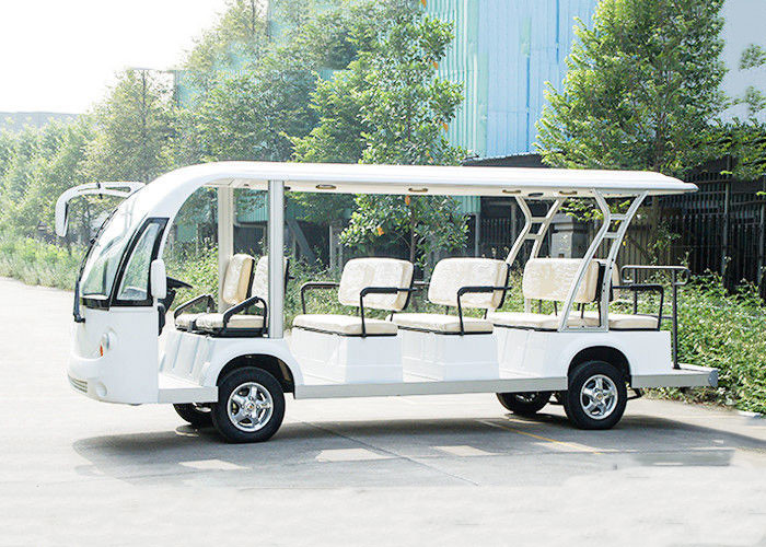 14 Seats 48V Trojan Battery Motor 72V 7.5KW Electric Sightseeing Bus
